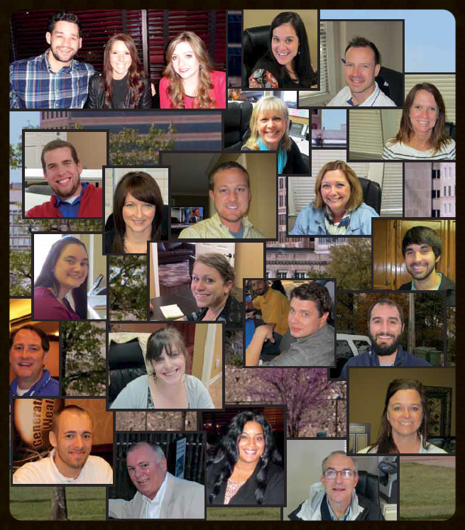 Collage of Memphis Invest staff