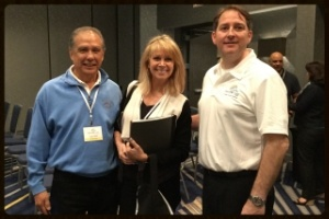 David Meeks with clients of Memphis Invest
