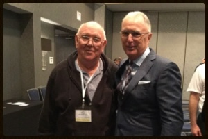 Kent Clothier, Sr. and client