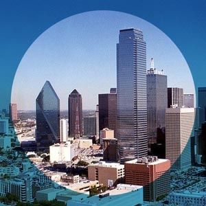 Dallas Texas Skyline Image