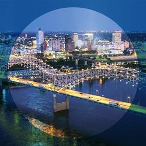 Memphis Tennessee Badge