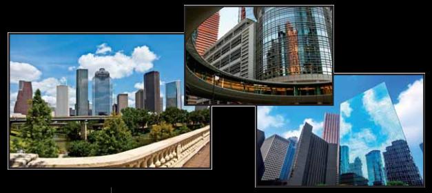 Houston Texas buildings and skyline